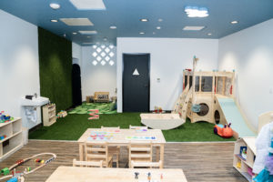 pillar childcare play space